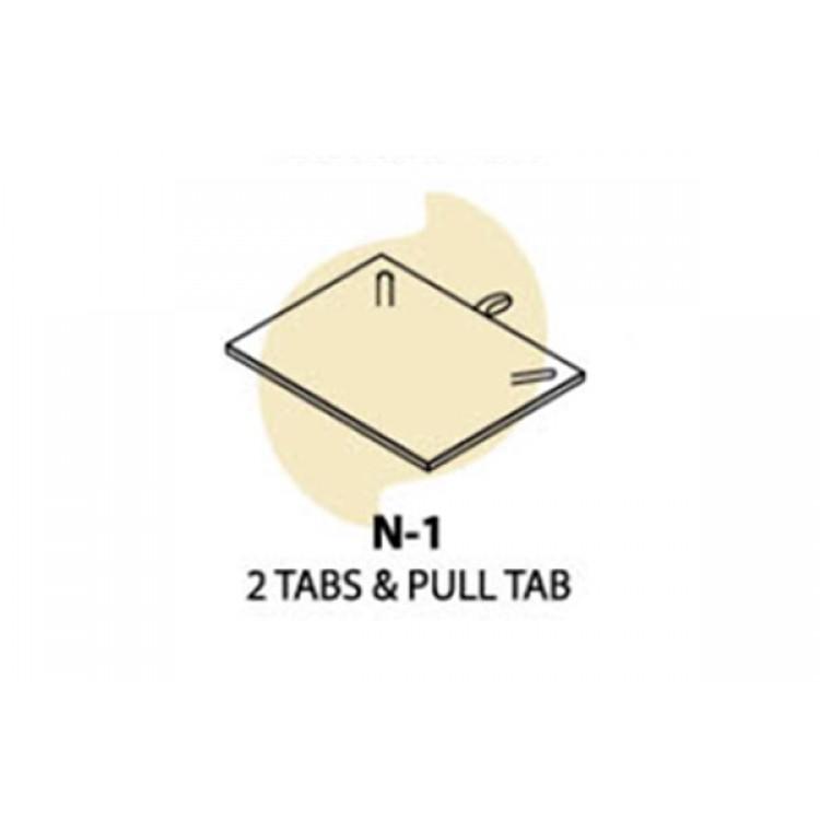 Necklace Box  (White/White,  PU/S/PU)