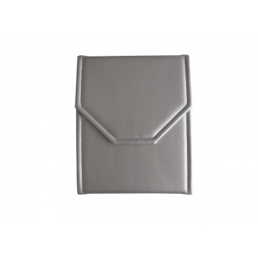 Jewelry Pouch  (Silver/Silver,  PU/S)